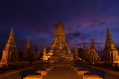 Wat Chaiwattanaram. The historical temple in Ayutthaya, Thailand Stock Photography