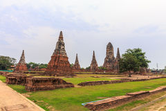 Wat Chaiwattanaram Temple, Ayutthaya, Thailand Stockfotografie