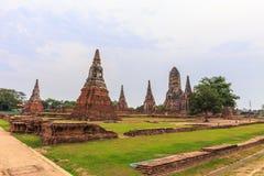 Wat Chaiwattanaram Temple, Ayutthaya, Thailand Stock Photography