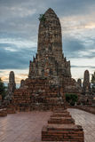 Wat Chaiwattanaram Temple. A part of Ayutthaya historical park ,Locate on Ayutthaya province ,Thailand Stock Photography
