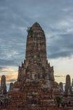 Wat Chaiwattanaram Temple. A part of Ayutthaya historical park ,Locate on Ayutthaya province ,Thailand Stock Images