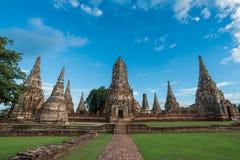 Wat Chaiwattanaram Temple. A part of Ayutthaya historical park ,Locate on Ayutthaya province ,Thailand Stock Image