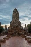 Wat Chaiwattanaram Temple. A part of Ayutthaya historical park ,Locate on Ayutthaya province ,Thailand Stock Photo