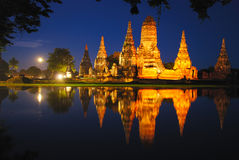 Wat Chaiwattanaram Royalty Free Stock Images