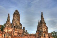 Wat Chaiwattanaramn, Ayutthaya, Thailand Stock Photography