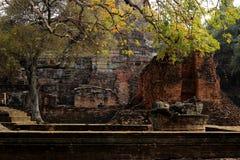 Wat Chaiwatthanaram阿尤特拉利夫雷斯 库存图片