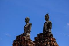 Wat Chaiwatthanaram,阿尤特拉利夫雷斯历史公园泰国 免版税库存图片
