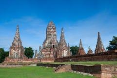 Wat Chaiwatthanaram, Ayuthaya省,泰国 免版税库存图片