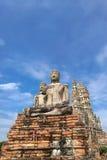 Wat Chaiwatthanaram à Ayutthaya, la vieille capitale de la Thaïlande Photo libre de droits