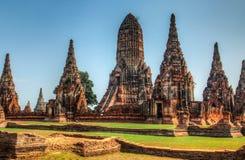 Wat Chaiwatthanaram imagens de stock royalty free