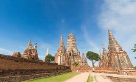 Wat Chaiwatthanaram Photographie stock