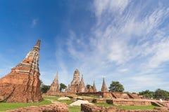 Wat Chaiwatthanaram Imagem de Stock