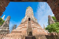 Wat Chaiwatthanaram Fotos de Stock Royalty Free