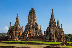 Wat chaiwatthanaram Royalty Free Stock Images