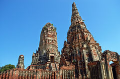 Wat Chaiwatthanaram Stock Photography