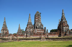 Wat Chaiwatthanaram Royalty Free Stock Photos