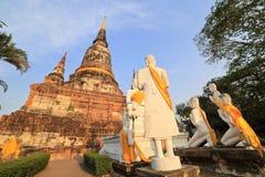 Wat Chaiwatthanaram Arkivfoton