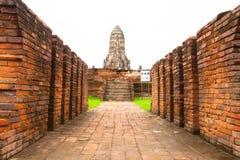 Wat chaiwatthanaram Arkivbild