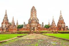 Wat chaiwatthanaram Fotografering för Bildbyråer