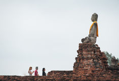 Wat Chaiwatthanaram Fotos de archivo
