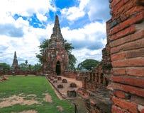 Wat-chaiwatthanaram Imagem de Stock Royalty Free