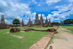 Wat-chaiwatthanaram Stockbild