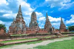 Wat-chaiwatthanaram Lizenzfreie Stockfotografie