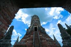 Wat-chaiwatthanaram Immagini Stock