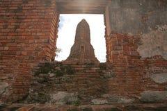 Wat-chaiwatthanaram Fotografia Stock Libera da Diritti