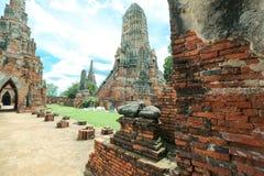 Wat-chaiwatthanaram Foto de Stock
