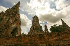 Wat-chaiwatthanaram Imagens de Stock
