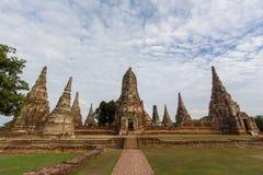 Wat Chaiwatthanaram Imágenes de archivo libres de regalías