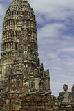 Wat Chaiwatthanaram Fotografie Stock