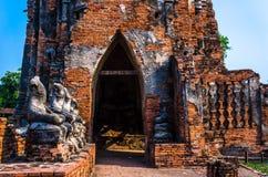Wat Chaiwatthanaram Zdjęcia Royalty Free