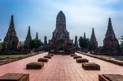 Wat Chaiwatthanaram Zdjęcie Royalty Free