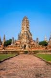Wat Chaiwatthanaram Zdjęcie Stock