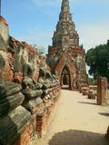 Wat Chaiwatthanaram Stockbild