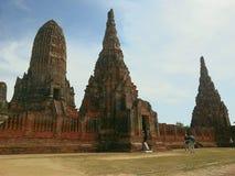 Wat Chaiwatthanaram Immagini Stock Libere da Diritti