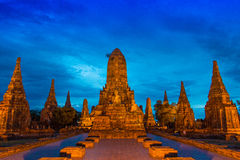 Wat Chaiwatthanaram (Ancient Thailand) Royalty Free Stock Image
