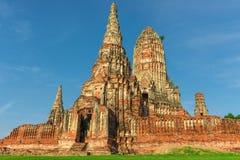 Wat Chaiwatthanaram. In Ayudhya of Thailand Stock Image