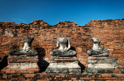 Wat Chaiwatthanaram Ayutthaya Στοκ Φωτογραφίες