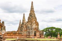 Wat Chaiwatthanaram, Ayutthaya Tailândia Foto de Stock
