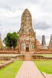 Wat Chaiwatthanaram, Ayutthaya Tajlandia Obrazy Royalty Free