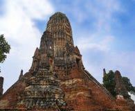 Wat Chaiwatthanaram, Ayutthaya, Thailand lizenzfreie stockfotografie