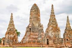 Wat Chaiwatthanaram, Ayutthaya Thailand Lizenzfreie Stockbilder