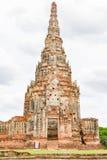 Wat Chaiwatthanaram, Ayutthaya Thailand Lizenzfreie Stockfotografie