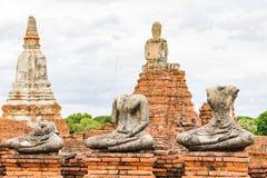 Wat Chaiwatthanaram, Ayutthaya Thailand Stockfotografie