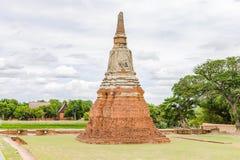 Wat Chaiwatthanaram, Ayutthaya Thailand Lizenzfreies Stockbild