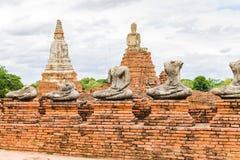 Wat Chaiwatthanaram, Ayutthaya Thailand Lizenzfreies Stockfoto