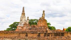 Wat Chaiwatthanaram Ayutthaya Thailand Arkivfoto